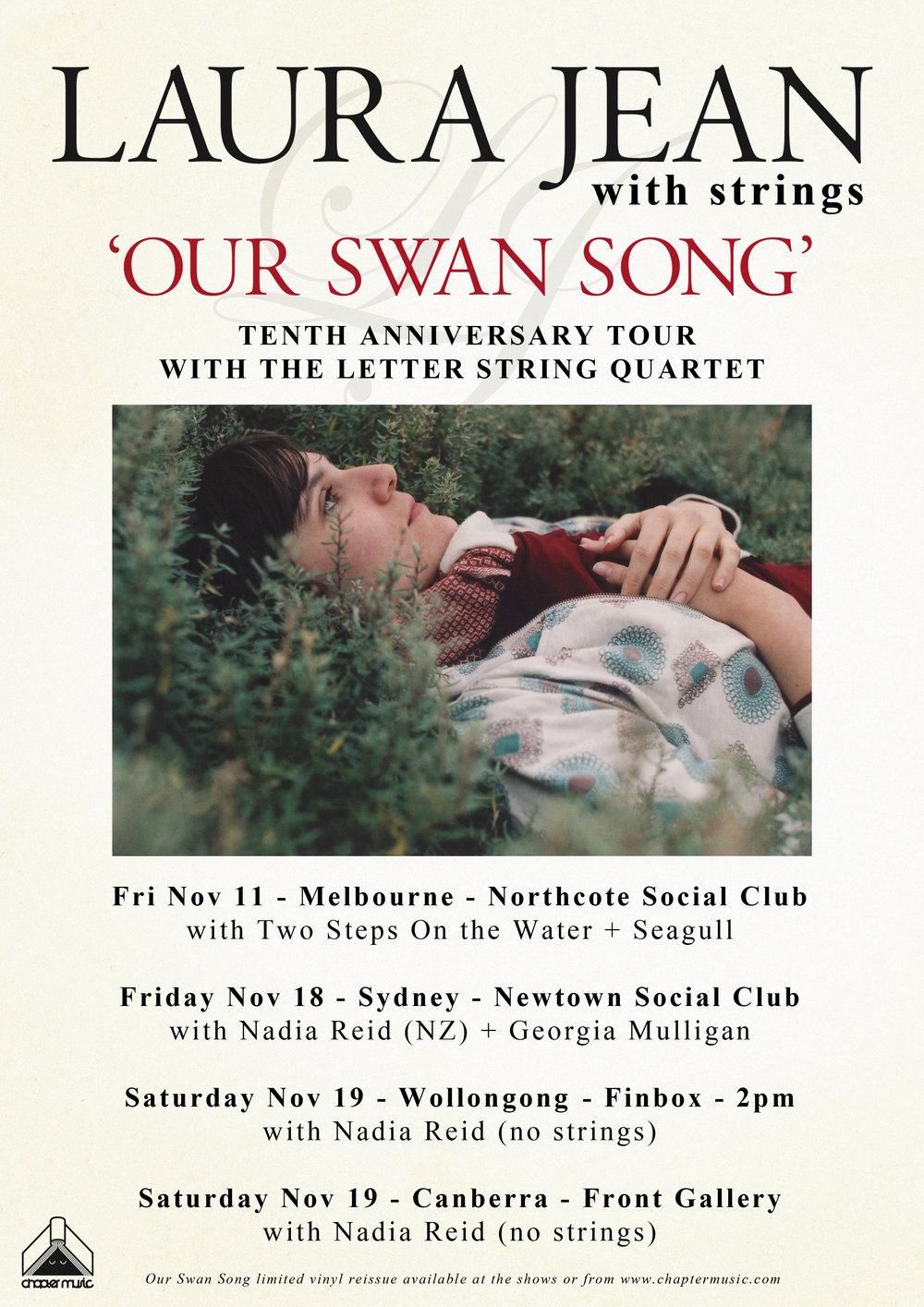 Laura Jean - Our Swan Song Tour
