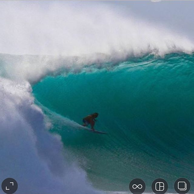 Few waves at desert point this week!! Nice work Eddie! Hell of a section ahead!