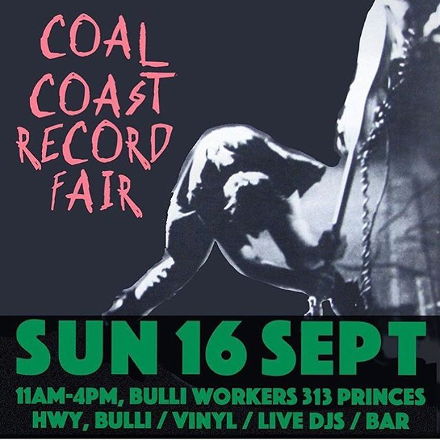 Bulli calling? Coal coast record fair is Saturday at Bulli workers. Get down!