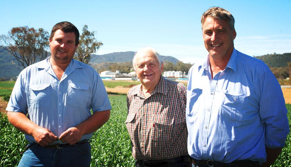 Three Generations of Quality Turkey Farming | Colin James Quast, Col Quast Senior and Colin Quast