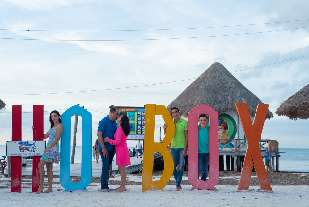 The Holbox sign