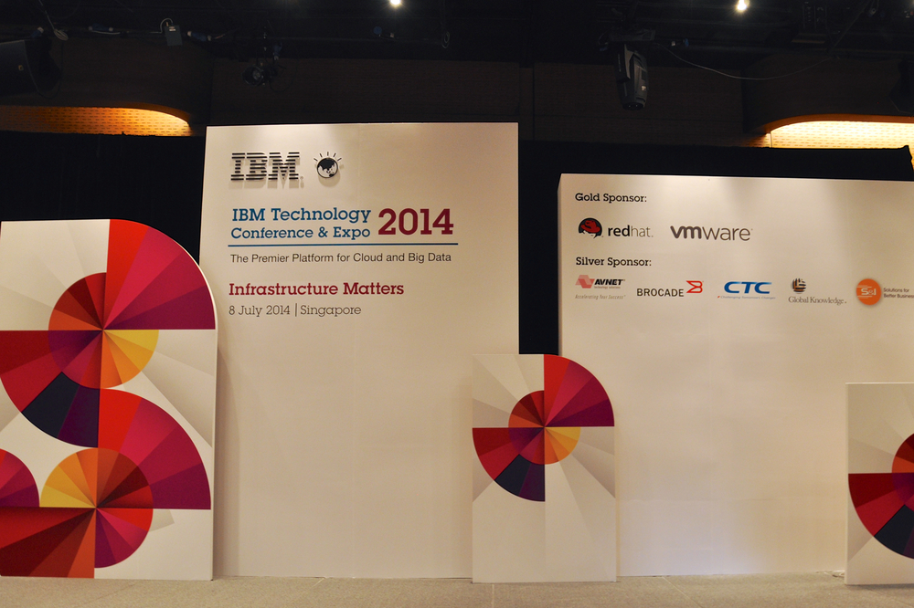 IBM Singapore // Stage Set