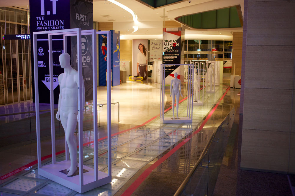 DFW // Custom Events Fabrication - Mannequin Display