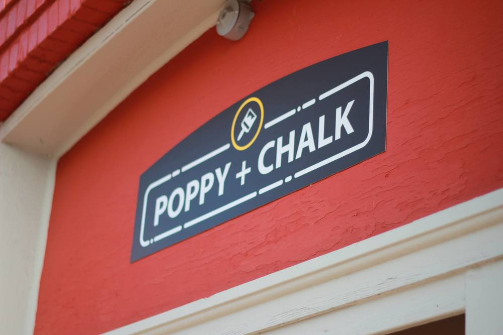 Visit Poppy + Chalk in the heart of historic downtown Culpeper.