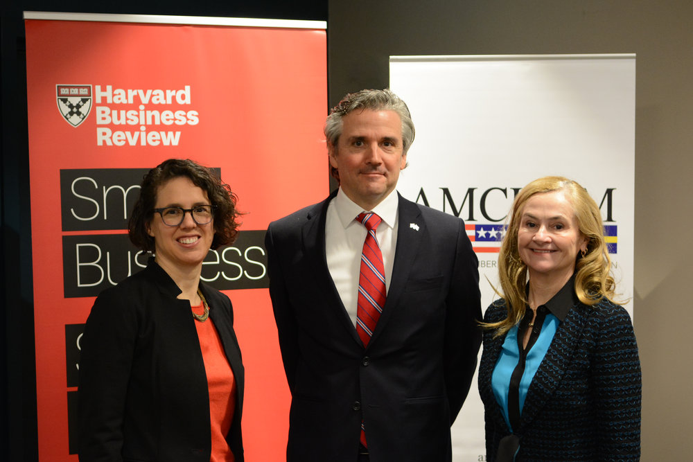 AmCham Sweden Harvard Business Review.JPG