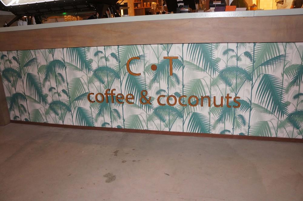 Bartekst bij Coffee&Coconuts