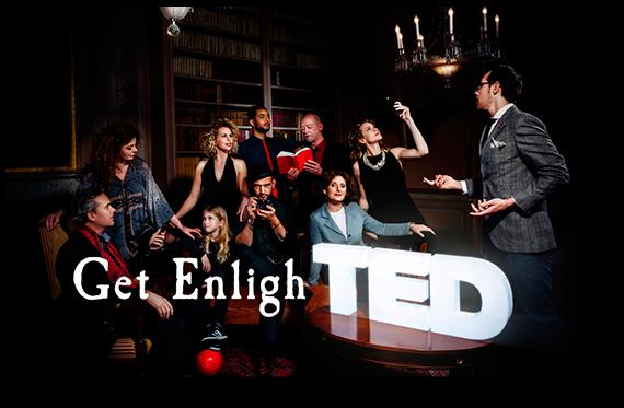 3D letters TEDX