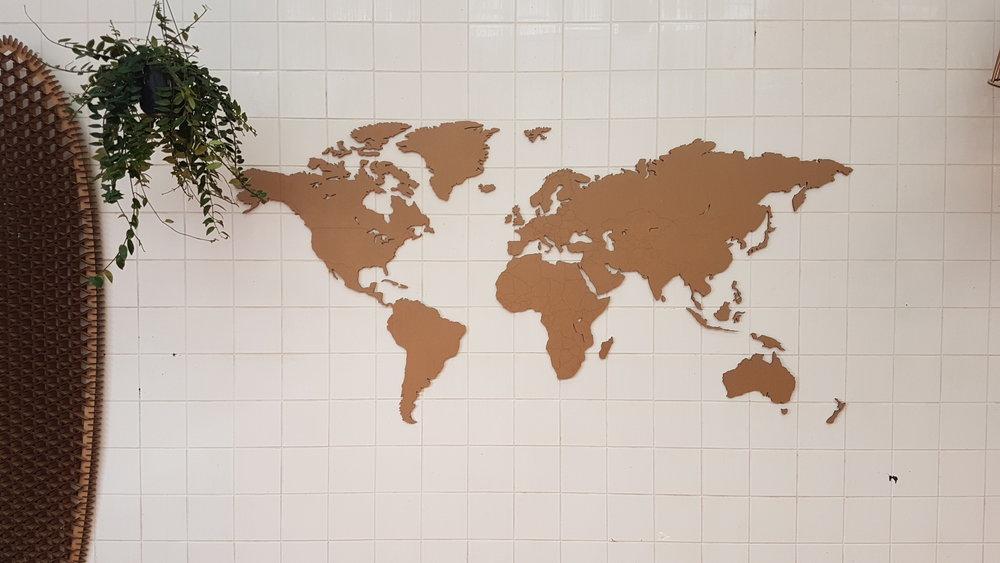 WorldMap karton