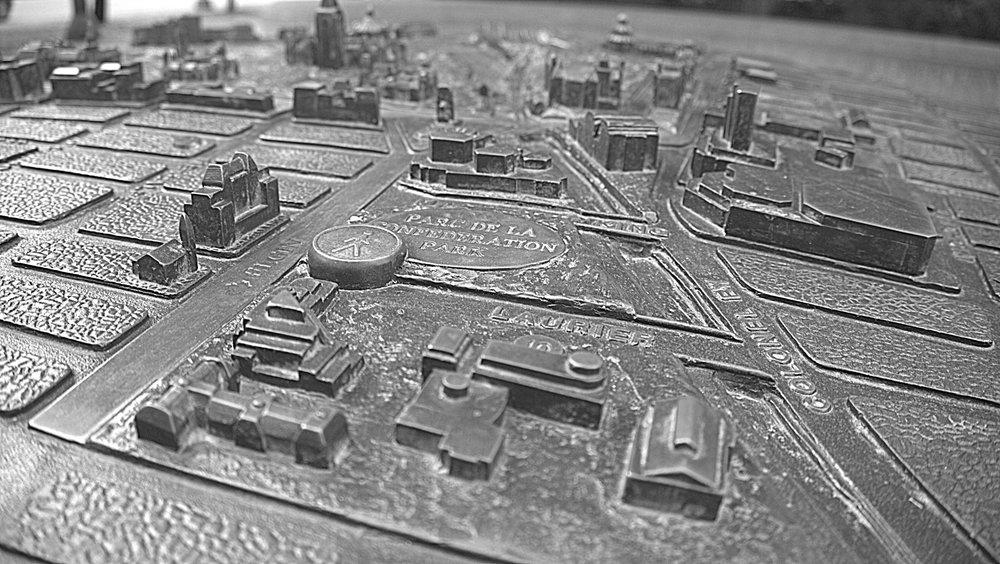 Map of downtown Ottawa