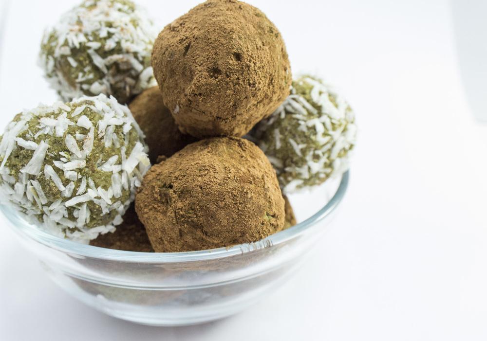 No Bake Vegan Protein Balls