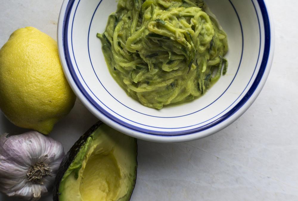 Lemon Basil Avocado Zuccasta