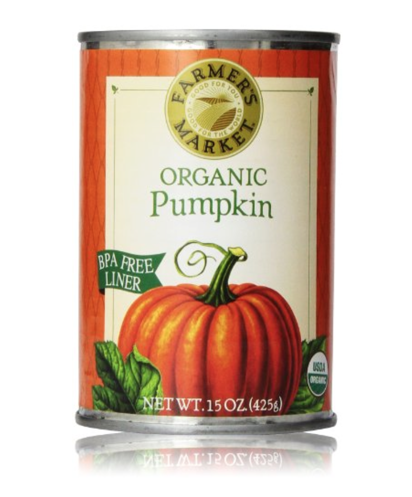 Farmer's Market Foods Organic Canned Pumpkin