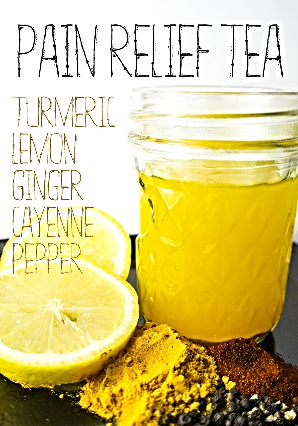 turmeric tea words