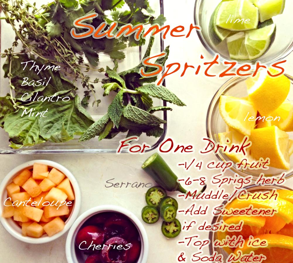 Summer Spritzers
