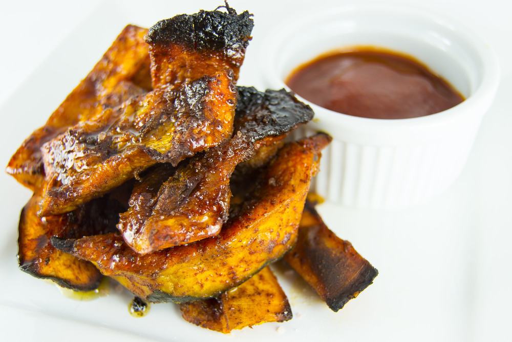 Smoky Maple Kabocha Fries