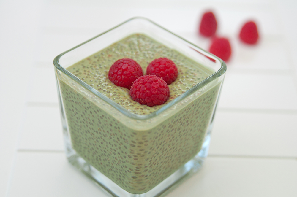 Green Tea Energy Chia Pudding