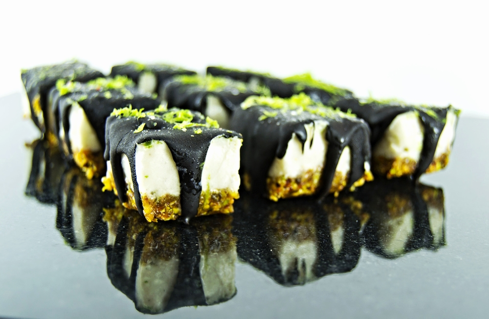 Banana Lime Coconut Raw Bars