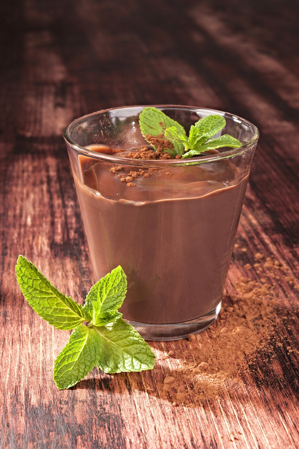 Protein Mint Chocolate Pudding