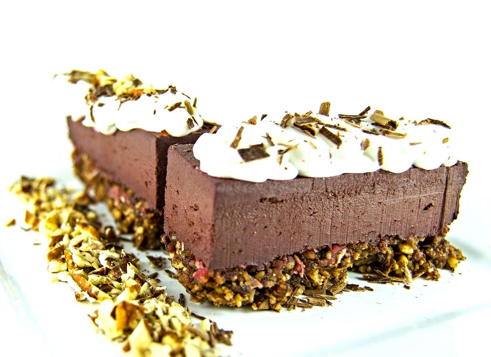 Chocolate Beet Mousse Bars