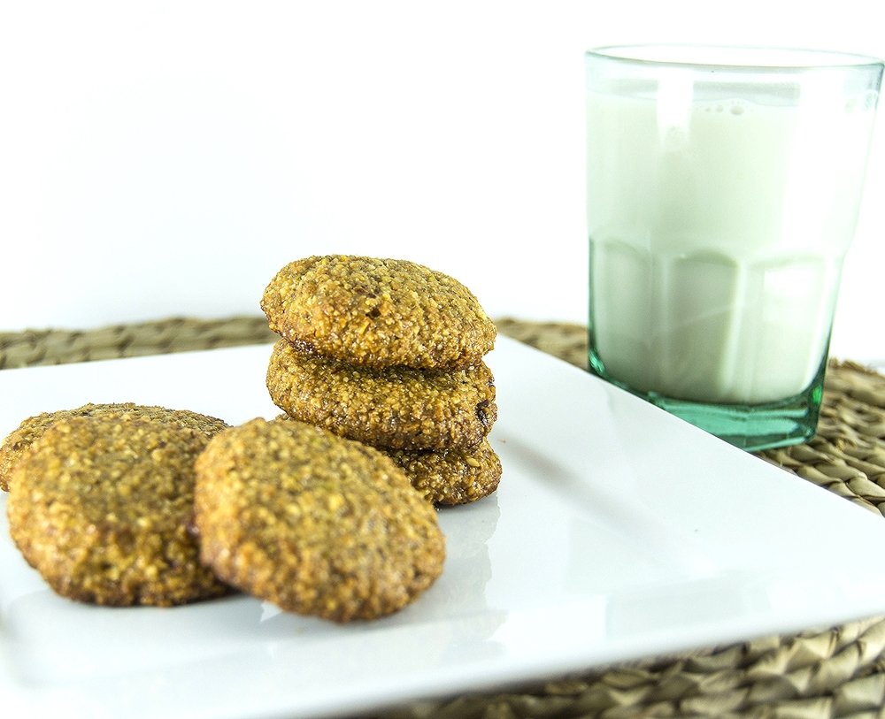 Grain Free Citrus Honey Nut Cookies