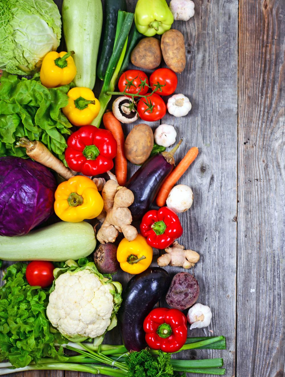 Vegetable Flavor Combos