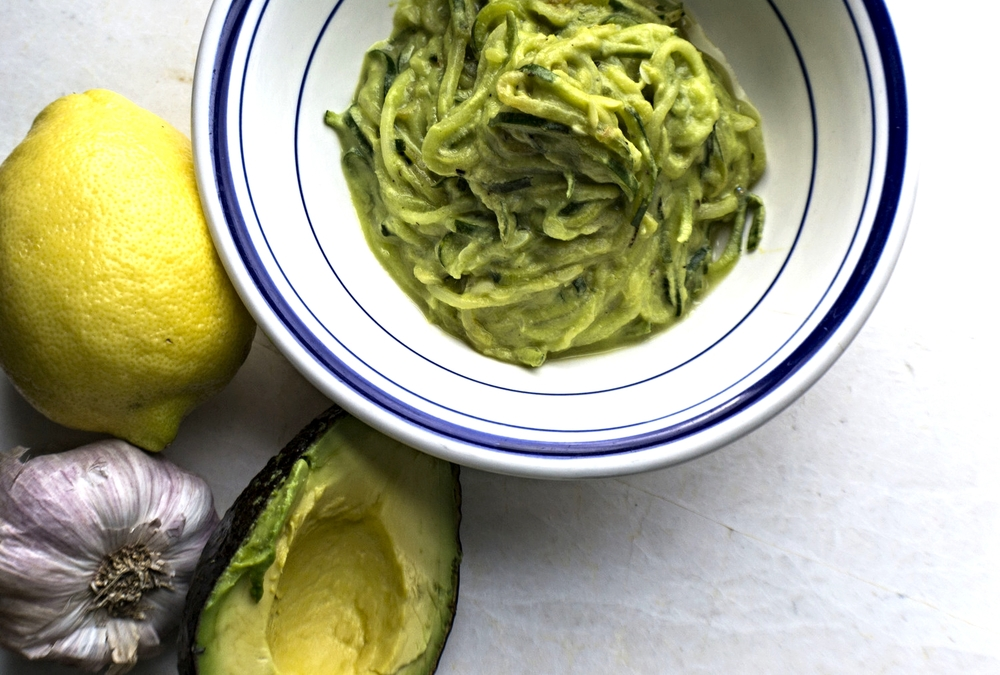 Lemon Basil Avocado Zuccasta