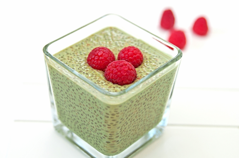 Matcha Chia Energy Pudding