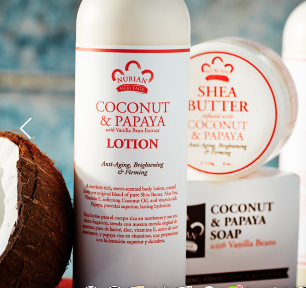 Nubian Heritage Coconut Papaya Handcream