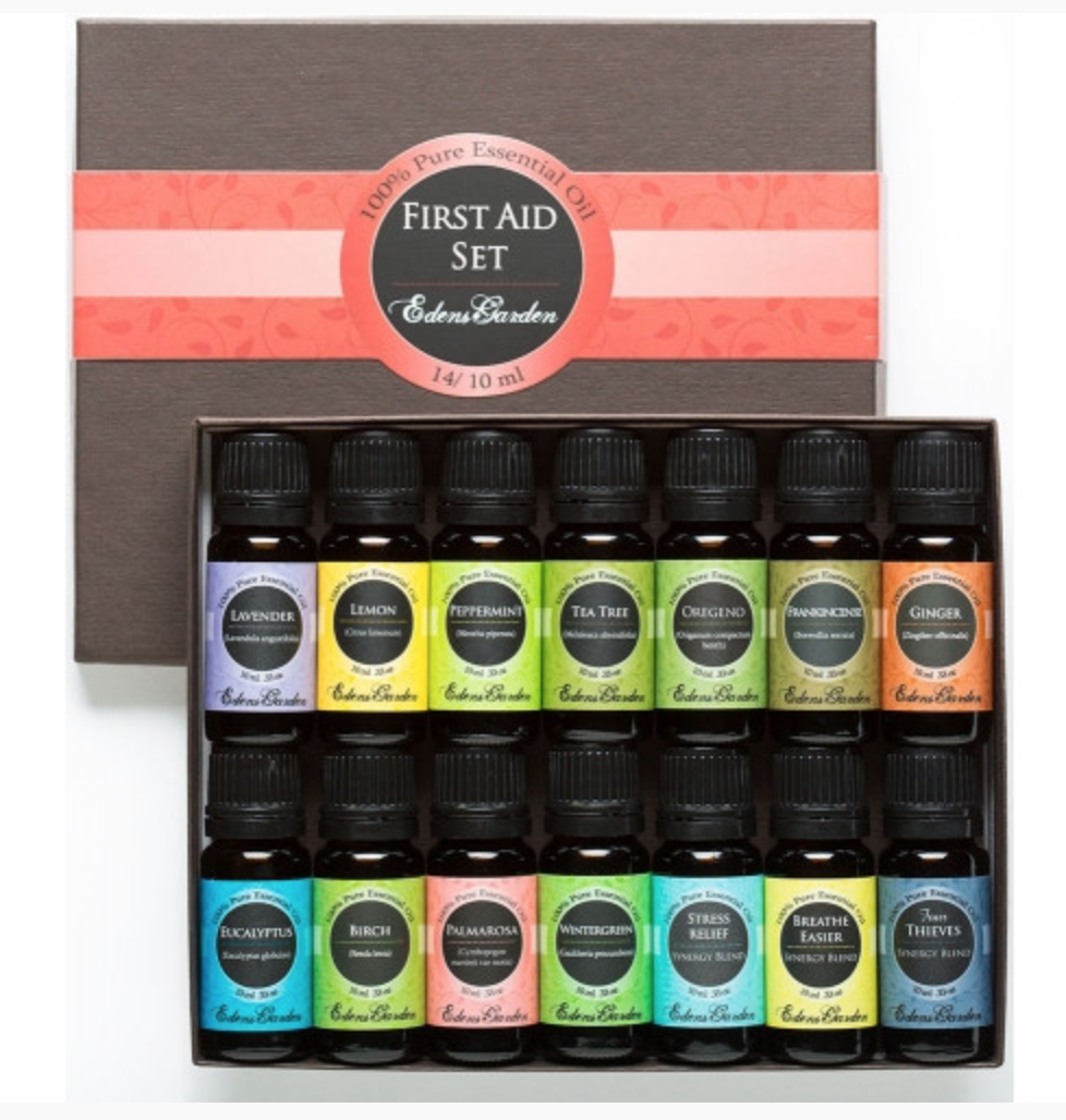 First Aid Aromatherapy Kit