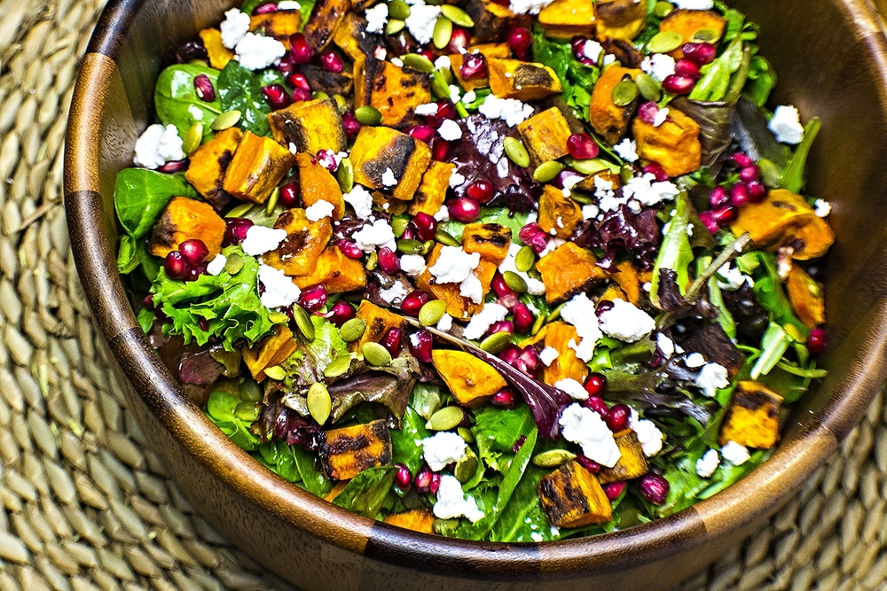 Sweet Potato Gem Salad
