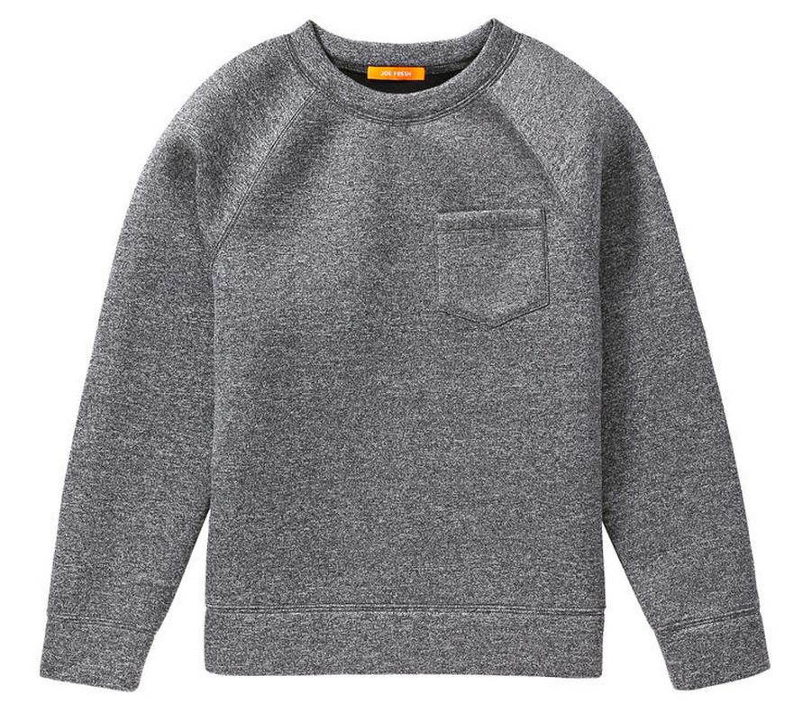 JOE FRESH neoprene sweatshirt