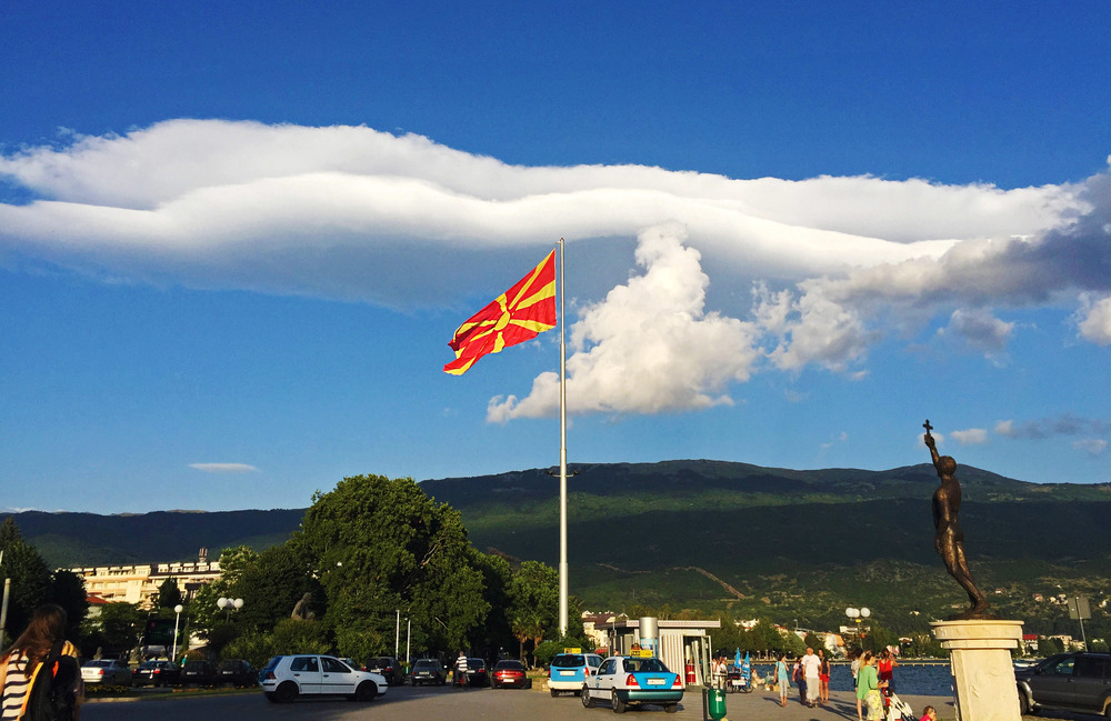 Ohrid main square