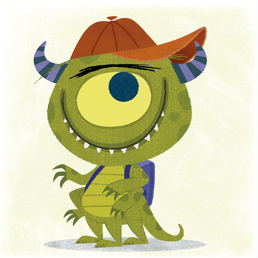 more monsters michael robertson illustration