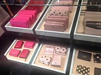 Some of the gorgeous Kate Spade products.