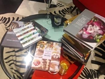 Sasha's books.