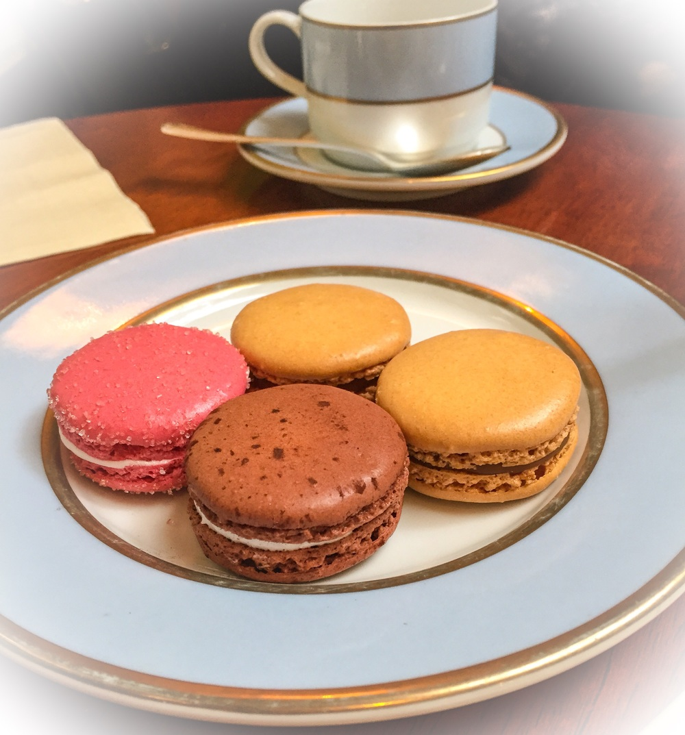 Tea & Macarons at Laduree