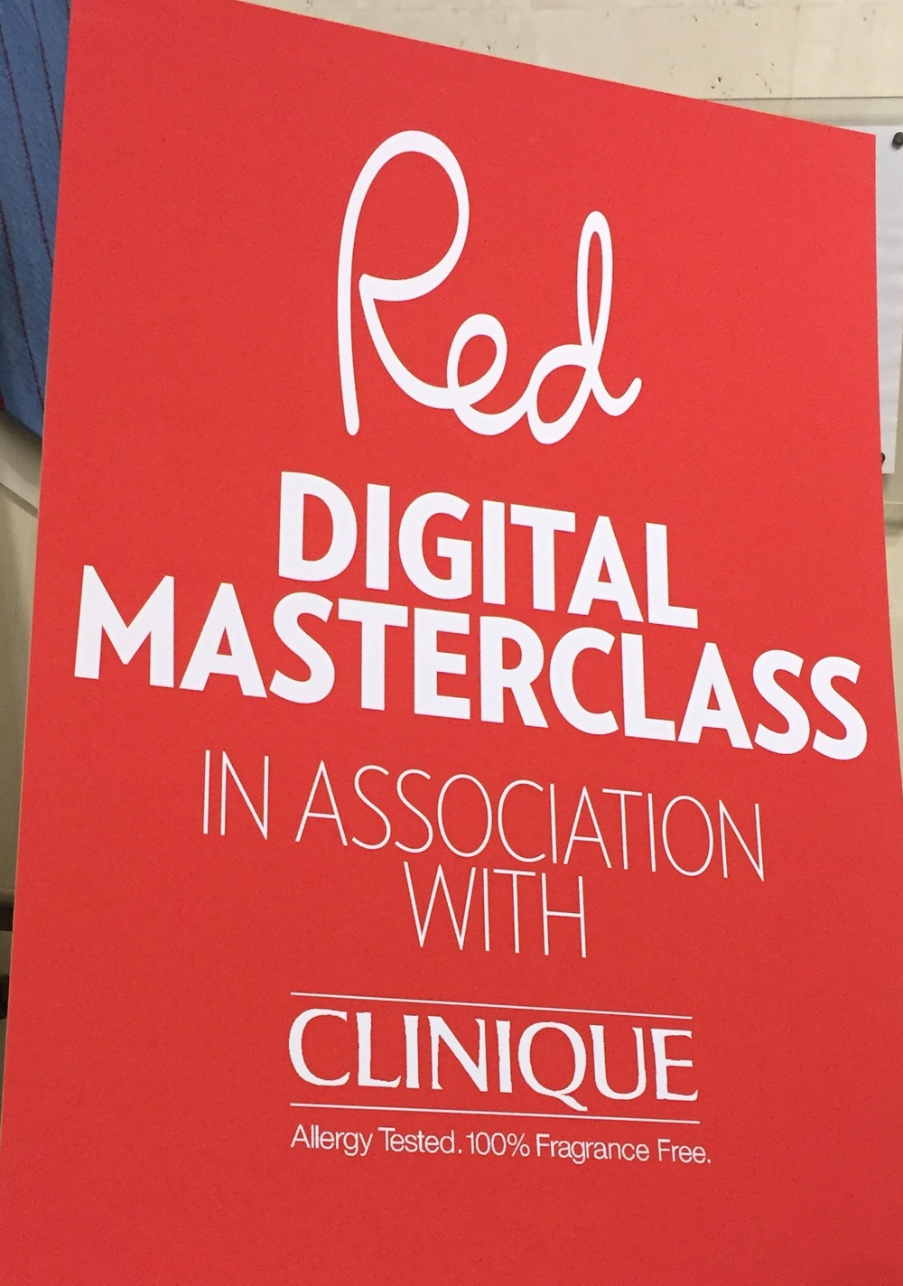 Red's Digital Masterclass at the British Library's Conference Centre.