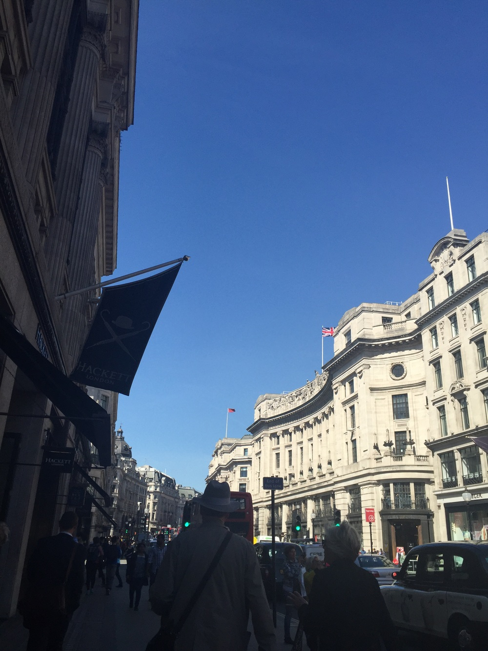 Regent Street again looking glorious.