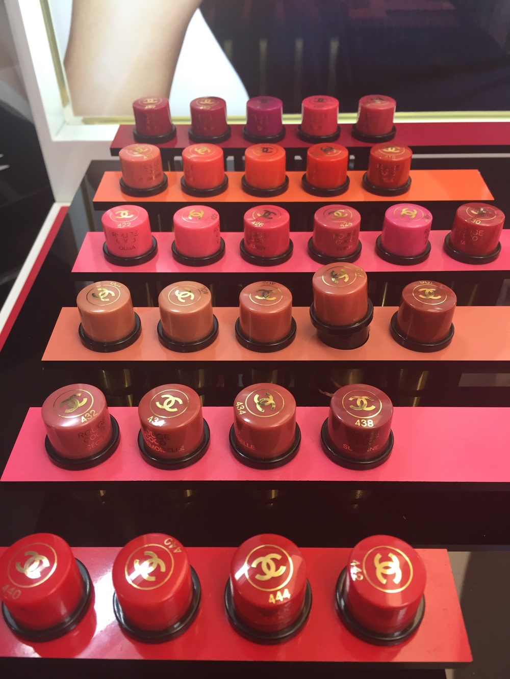 The new Rouge Coco Chanel lipsticks