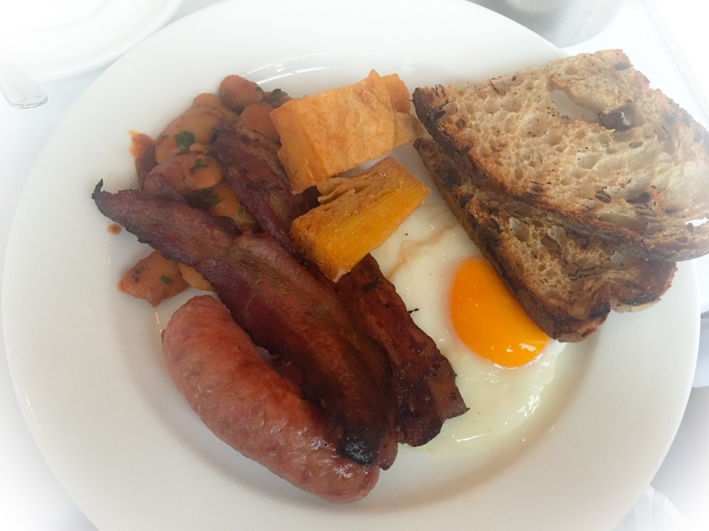 My Bistrotheque breakfast (£12.50)