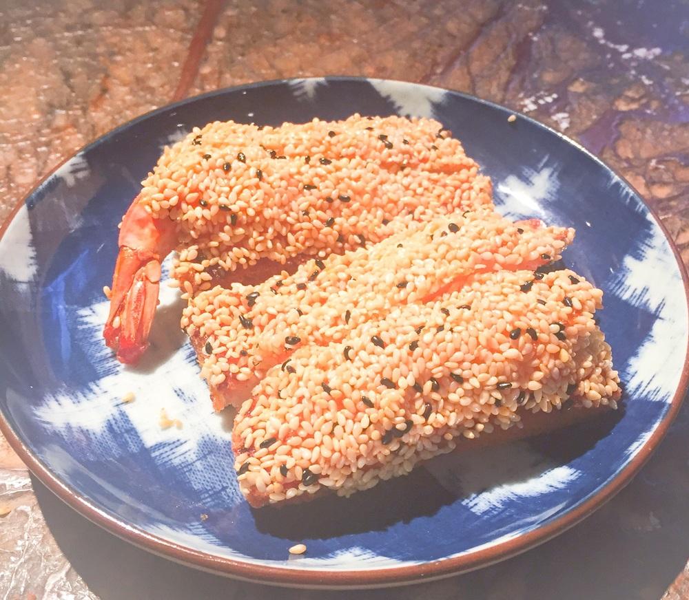 Sesame Prawn Toast (£6.50)