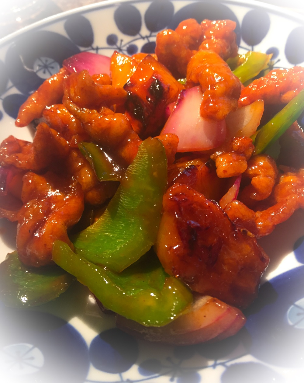 Sweet and Sour Pork (£9.00)