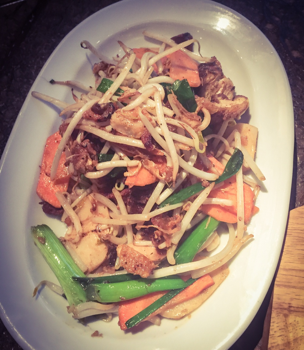 Chicken chop suey - £12.50