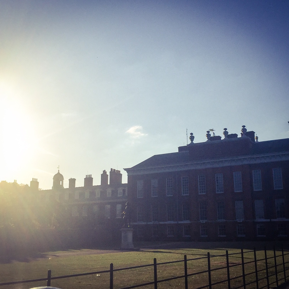 Sunset over Kensington Palace