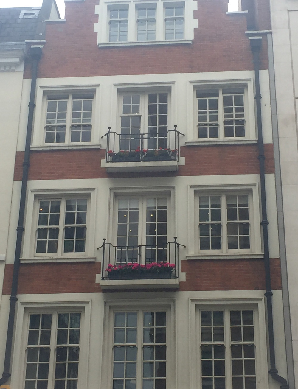 Gorgeous balconies in Soho