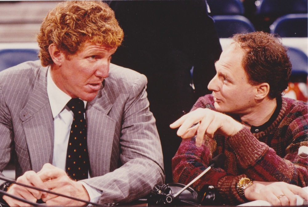 In his first year in the NBA, Brad found himself coaching one of the greatest big men who ever played, Bill Walton.  He was battling injuries but still able to show flashes of greatness.