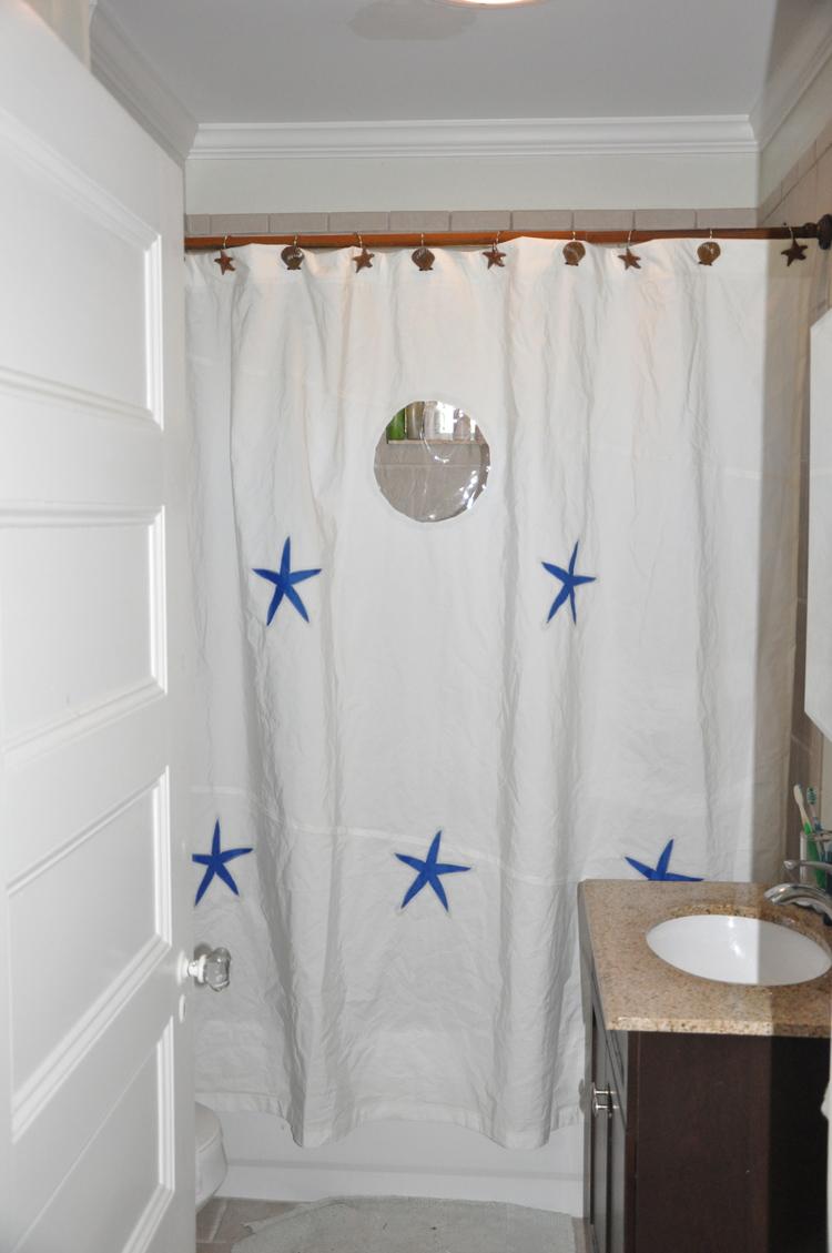 sailcloth shower curtains — second wind sails