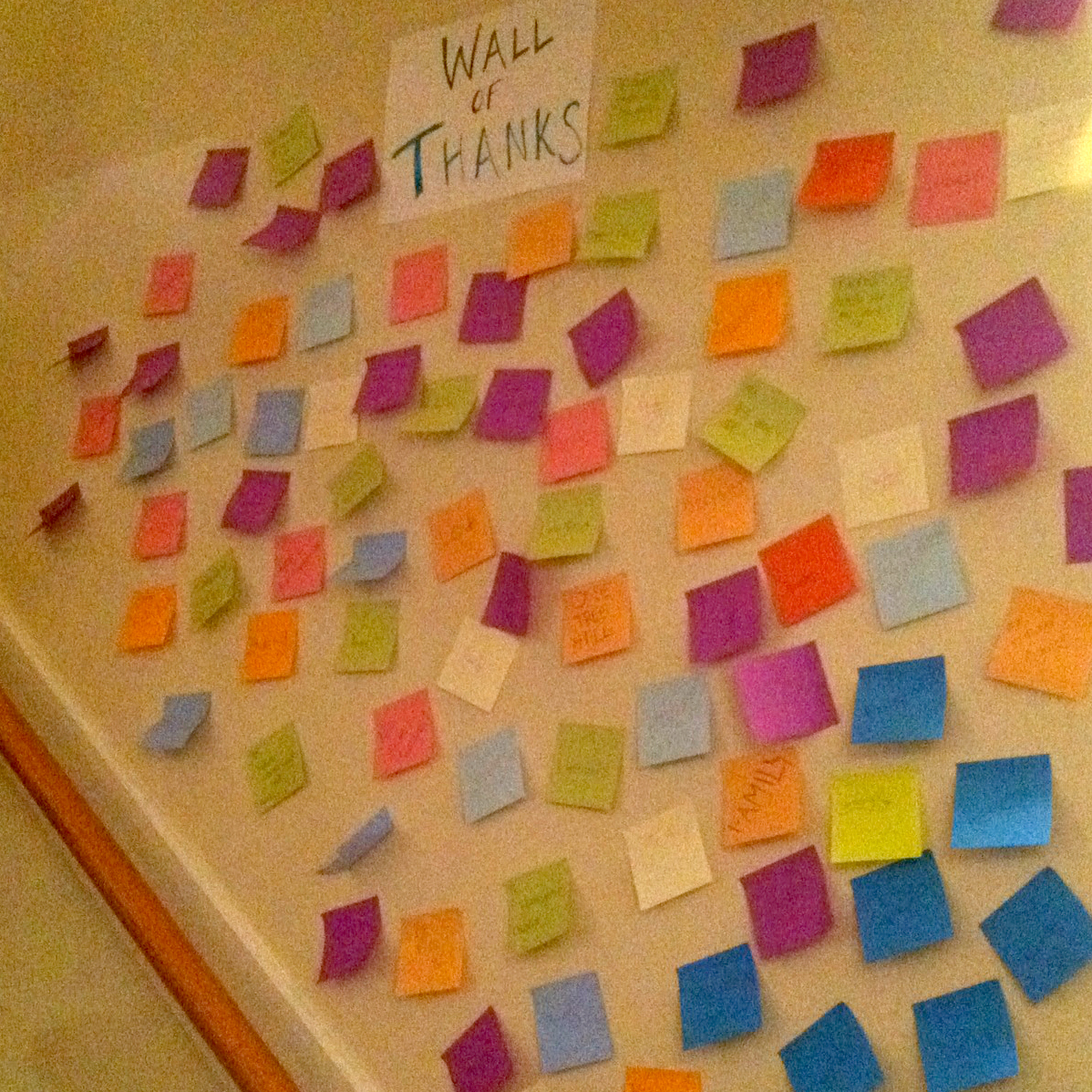 Our Virtual Wall Of Thanks Grit Amp Glory
