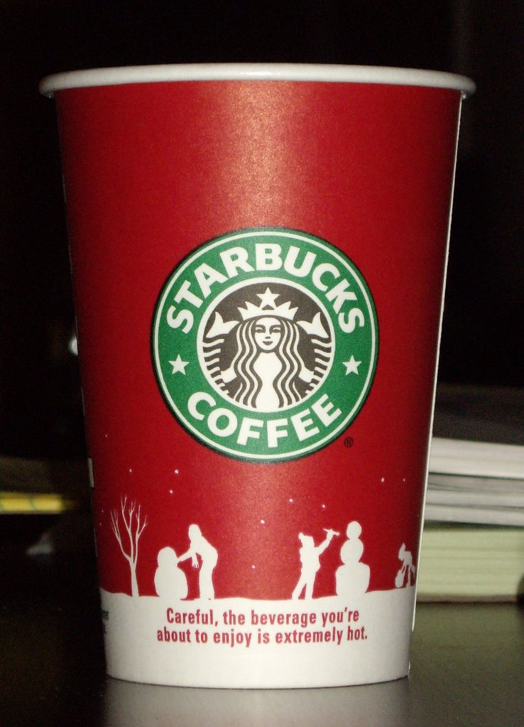 red cup of happiness