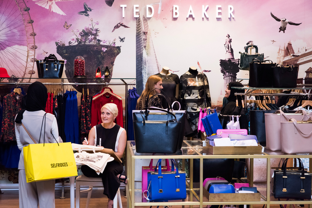 Ted Baker at Selfridges